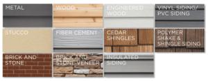 jm remodeling - siding - materials-wisconsin siding